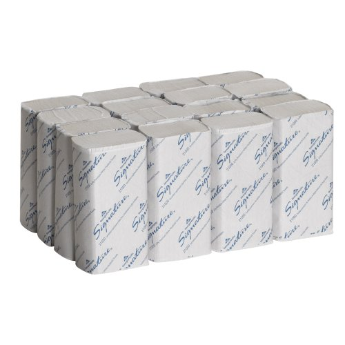 Georgia-Pacific Signature 21000 White 2-Ply Premium Multifold Paper Towel, 9.4&