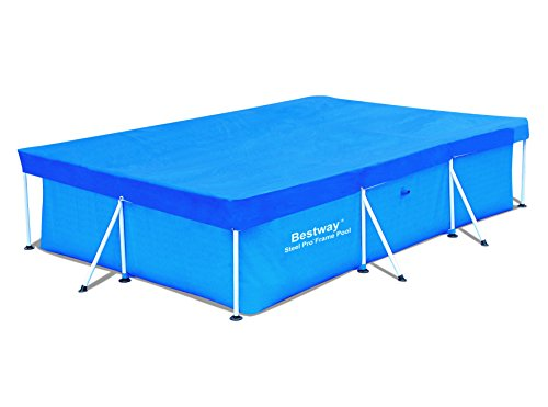 Bestway 58106 Frame Swimming Pool Cover 118 Inch By 79 Inch