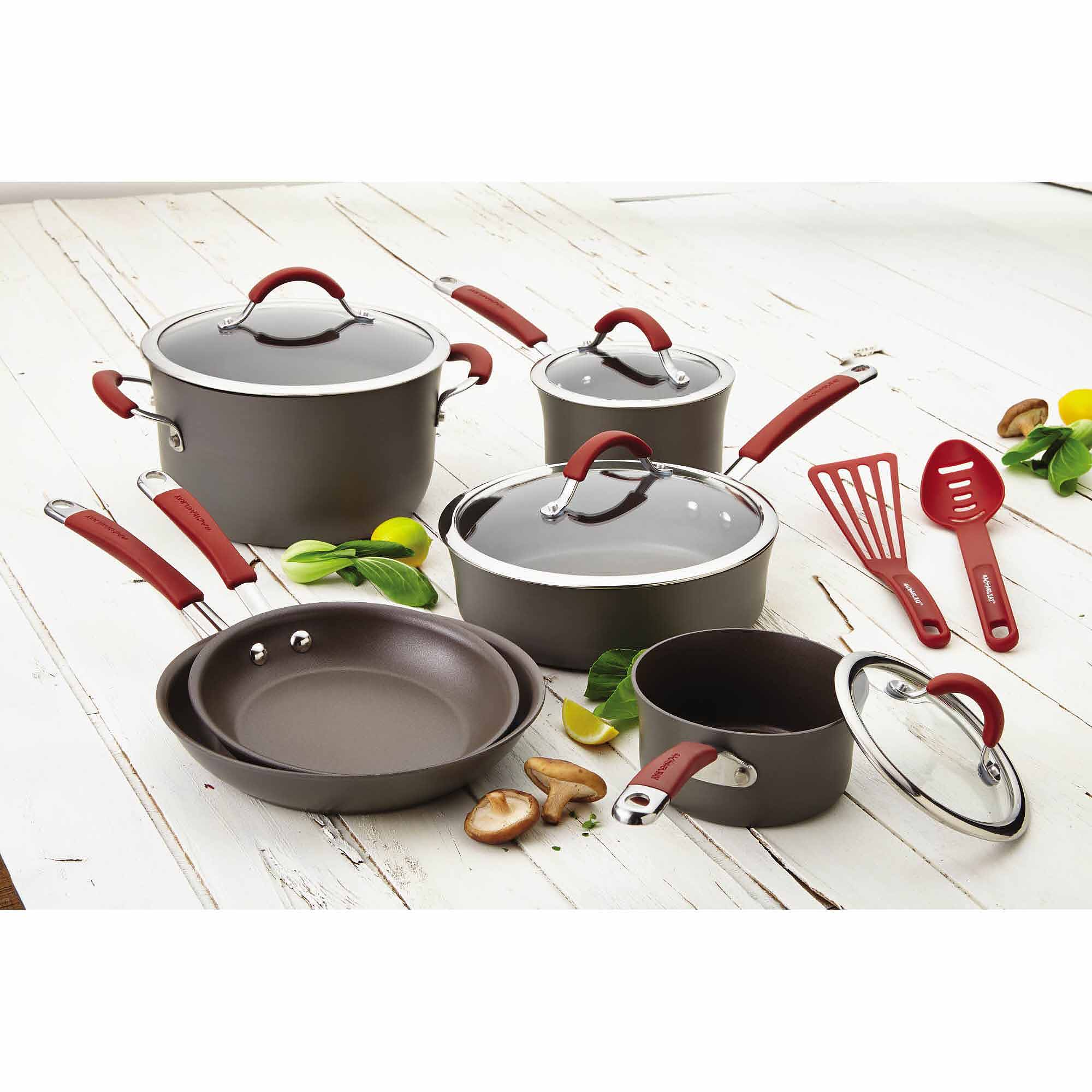 how to clean anodized cookware