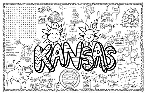 Free Coloring Pages Of State Seal Kansas