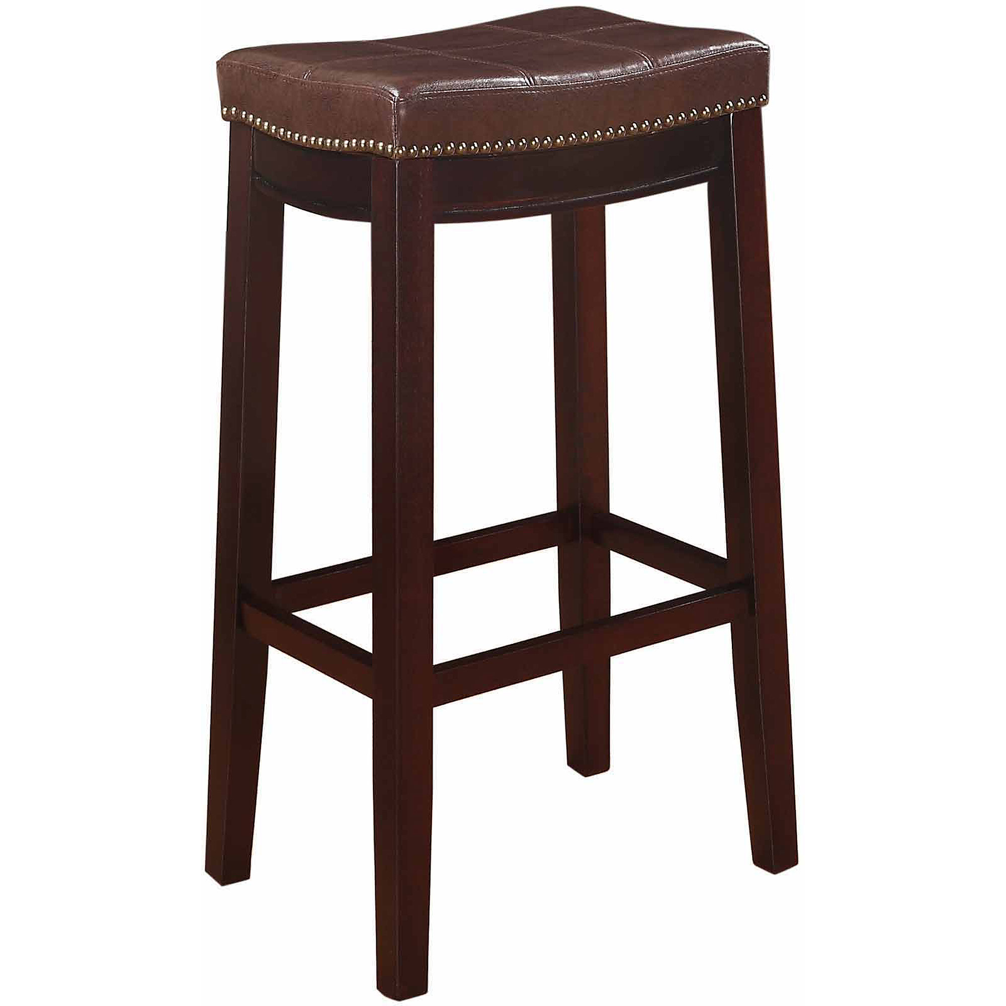 Linon Home Decor Claridge Patches 30 Quot Bar Height Stool