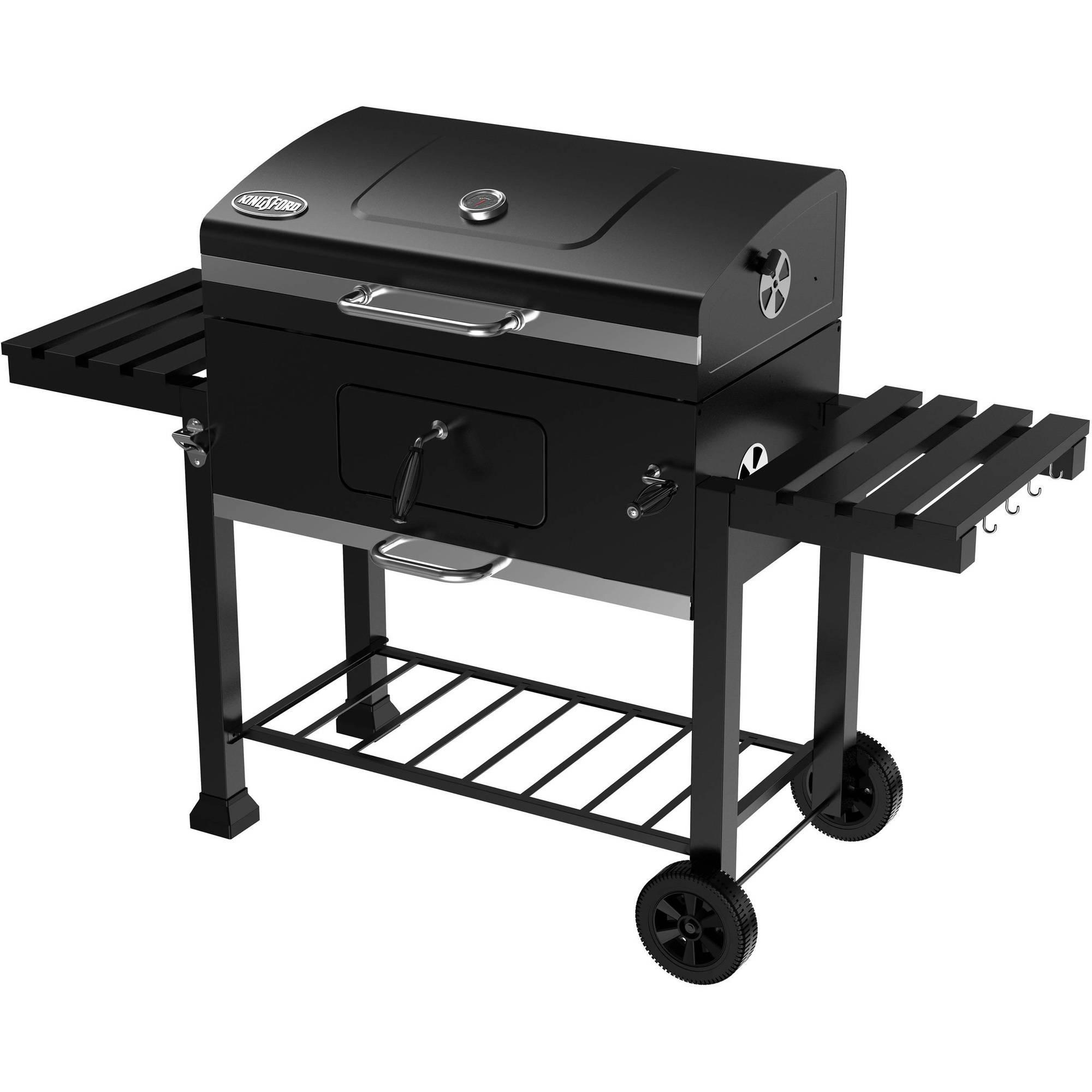 """Kingsford 32"""" Charcoal Grill Smoker Picnic Outdoor Black ..."""