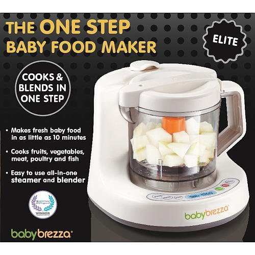 Baby Brezza One Step Baby Food Maker Elite