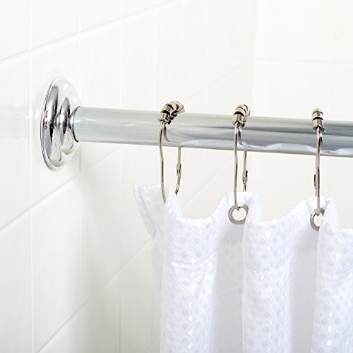 Zenith 648ss Builder Shower Curtain Rod 41 To 72 Inch Chrome