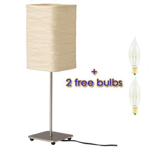 Ikea magnarp table lamp with 2 free bulbs for Magnarp table lamp youtube