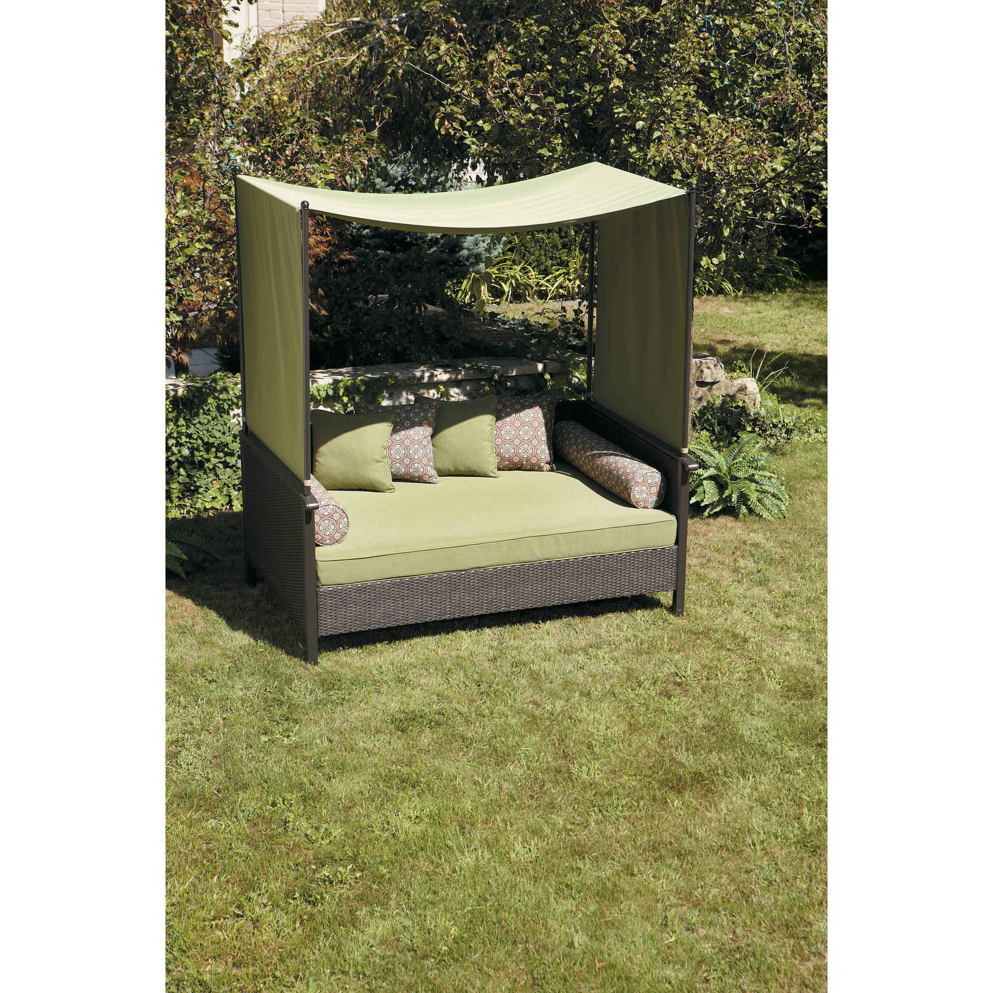 Better homes and gardens providence outdoor day bed ebay for Better homes and gardens bed in a bag