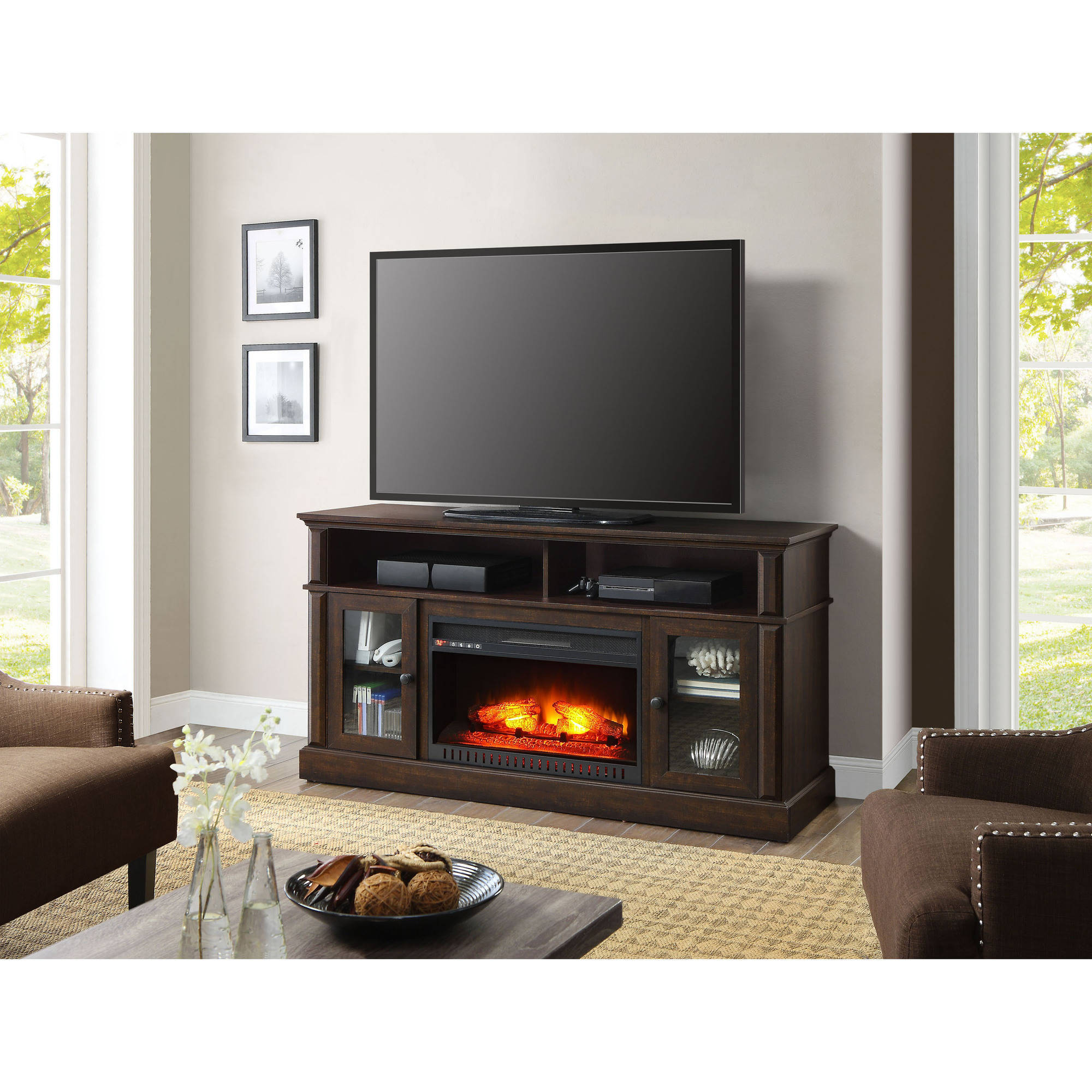 Whalen Barston Media Fireplace For Tv 39 S Up To 70 Multiple Finishes Ebay