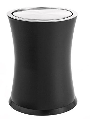 Bennett swivel a lid small trash can metal attractiv - Small trash can with lid ...