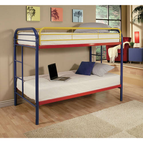 Acme Eclipse Twin Over Twin Metal Bunk Bed Multiple
