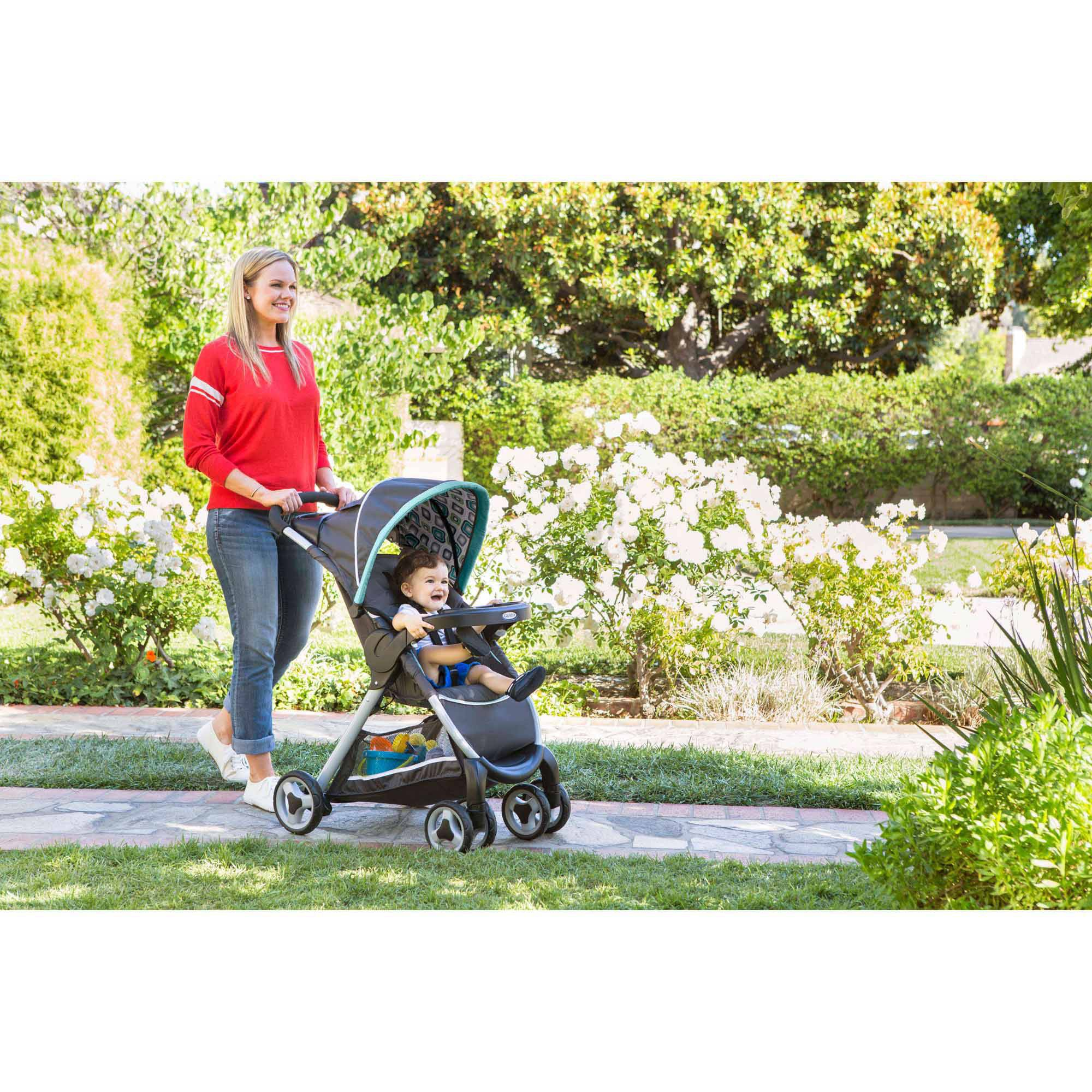 Graco-FastAction-Fold-Click-Connect-Travel-System-Car-Seat-Stroller-Combo-Cho