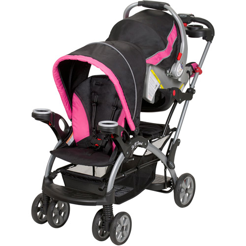 Baby Trend Sit N Stand Ultra Single Stroller Bubble Gum