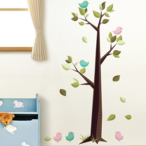 Dcwv Home Wall Decor : Die cuts with a view home peel and stick wall art tree