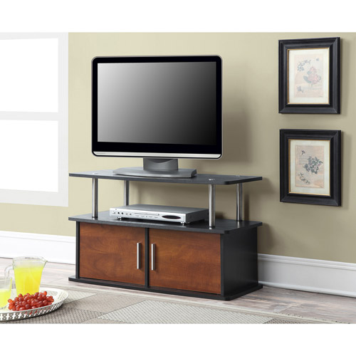 Convenience Concepts Designs2Go Deluxe 2-Door TV Stand with Cabinets for TVs up