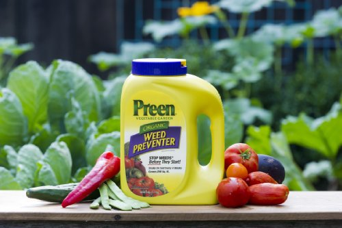 Preen Organic Vegetable Garden Weed Preventer 5 Lb 24 63774