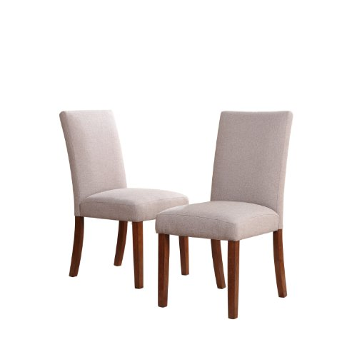 dorel asia linen chairs taupe set of 2 3 list price $ 201 71 price $ ...