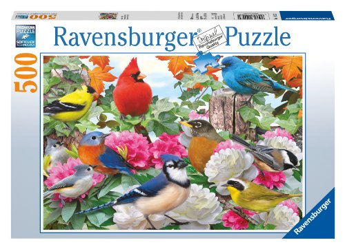 Electric Kitchen Appliance Crossword Clue ~ Garden birds piece puzzle