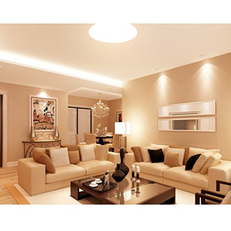 Le 12w 11 inch 3000k led ceiling lights 80w incandescent 2 for Decoraciones para salas modernas
