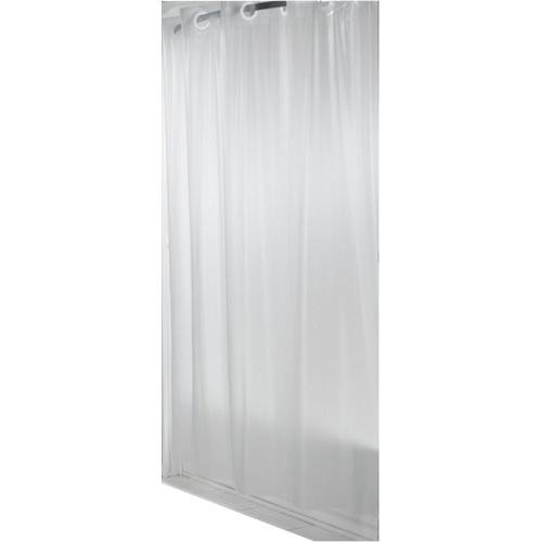 Hookless Shower Curtain Frosty White