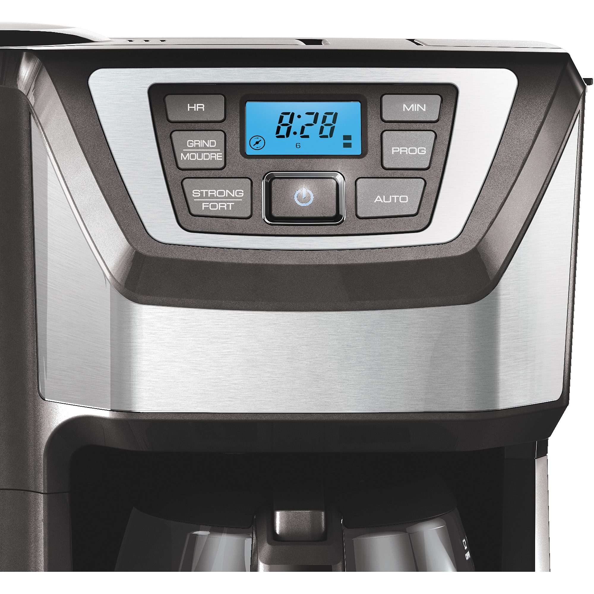 BLACK+DECKER Mill and Brew 12-Cup Programmable Coffee Maker with Grinder, CM500 eBay