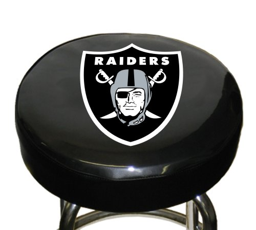 Nfl Oakland Raiders Bar Stool Cover