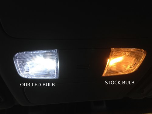 Nissan titan led package interior tag reverse lights Ge microwave interior light bulb replacement