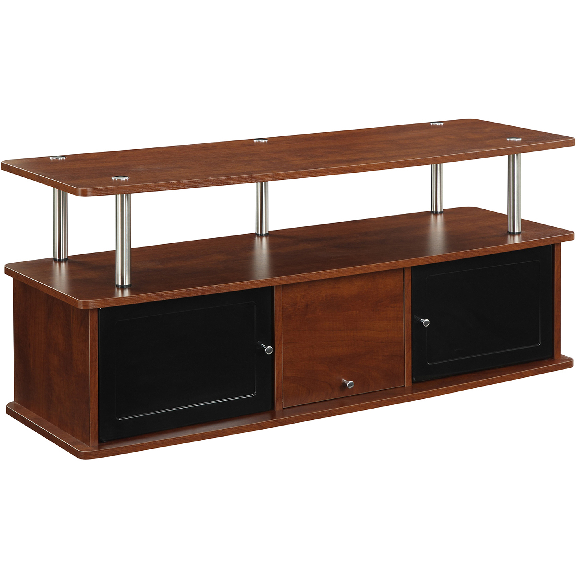 Convenience Concepts Designs2Go Cherry TV Stand With 3