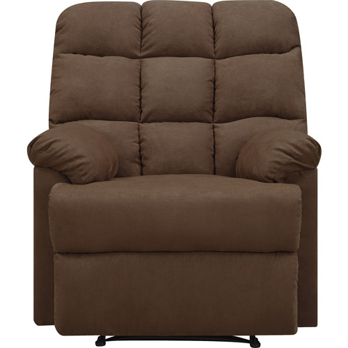 Comfortable Microfiber Biscuit Recliner Chair Relax Wall