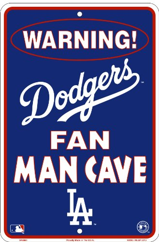 Electric Man Cave Signs : Los angeles dodgers fan man cave sign