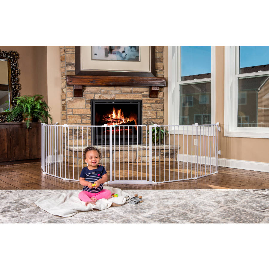 regalo 192 inch super wide gate and play yard white