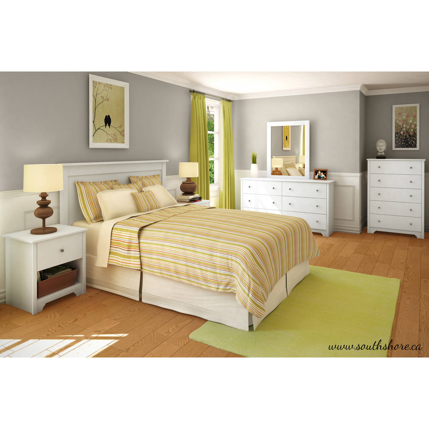 South Shore Vito 5 Drawer Chest Multiple Finishes