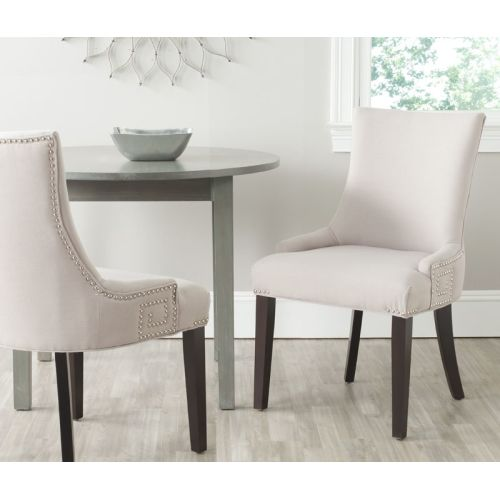 Safavieh Gretchen Side Chair With Silver Nail Heads Set