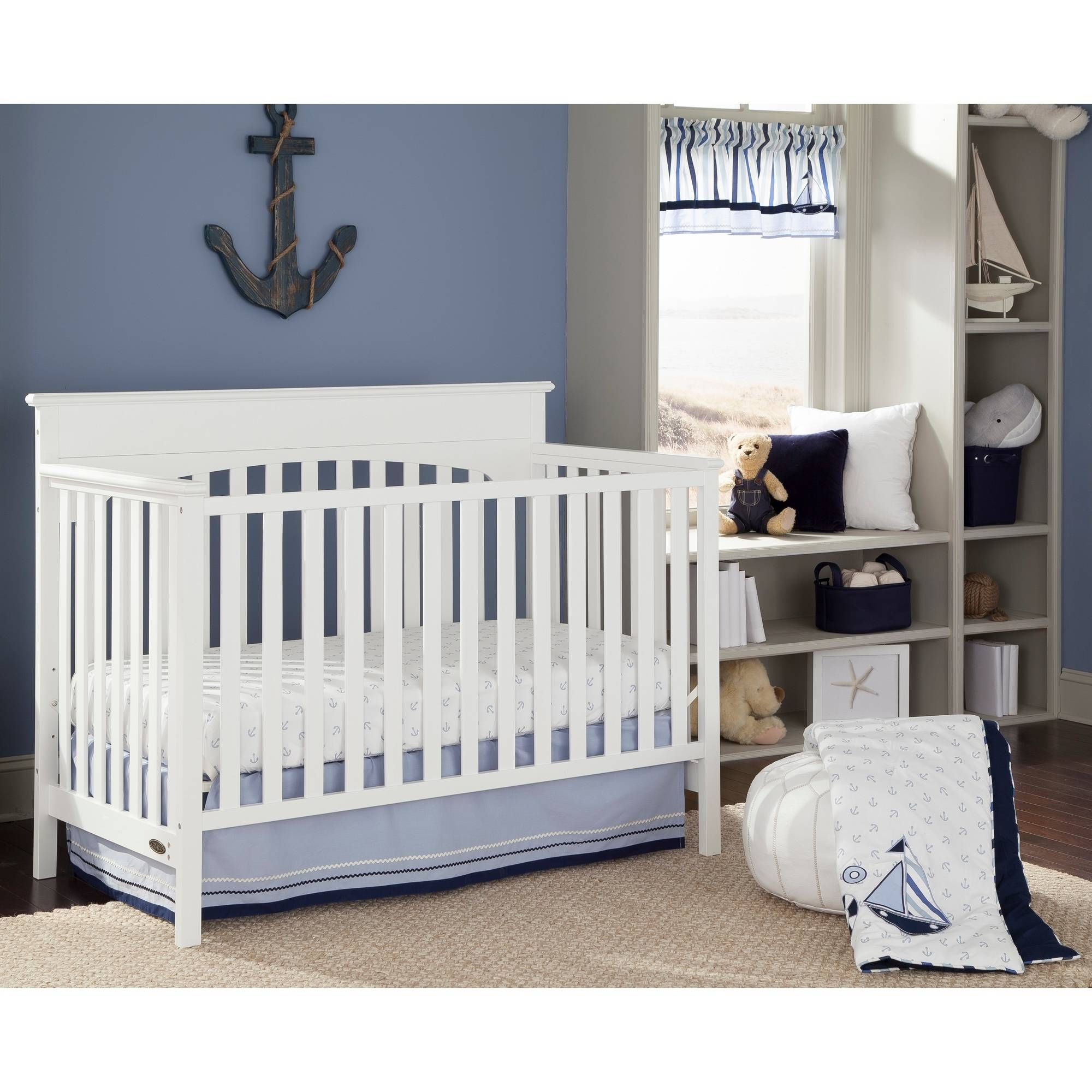 cnc crib products royal left conversion n changer delta props children cribs convertible grey