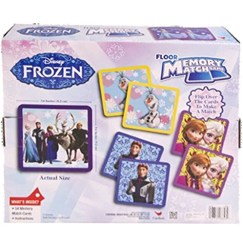 Disney Frozen Memory Match Game Holiday Gift Set For Kids