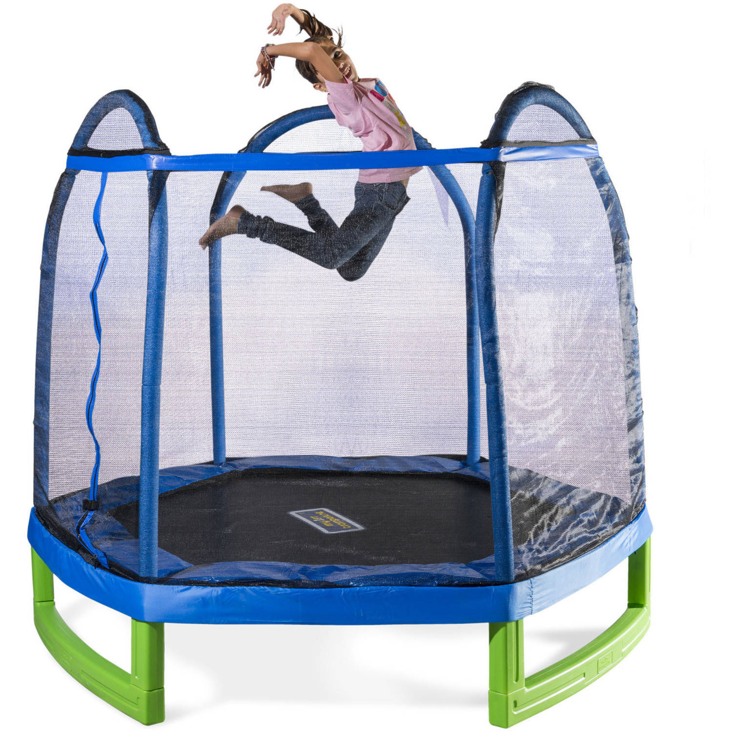 Trampoline Parts Retailers: Bounce Pro 7' My First Trampoline 687064055292