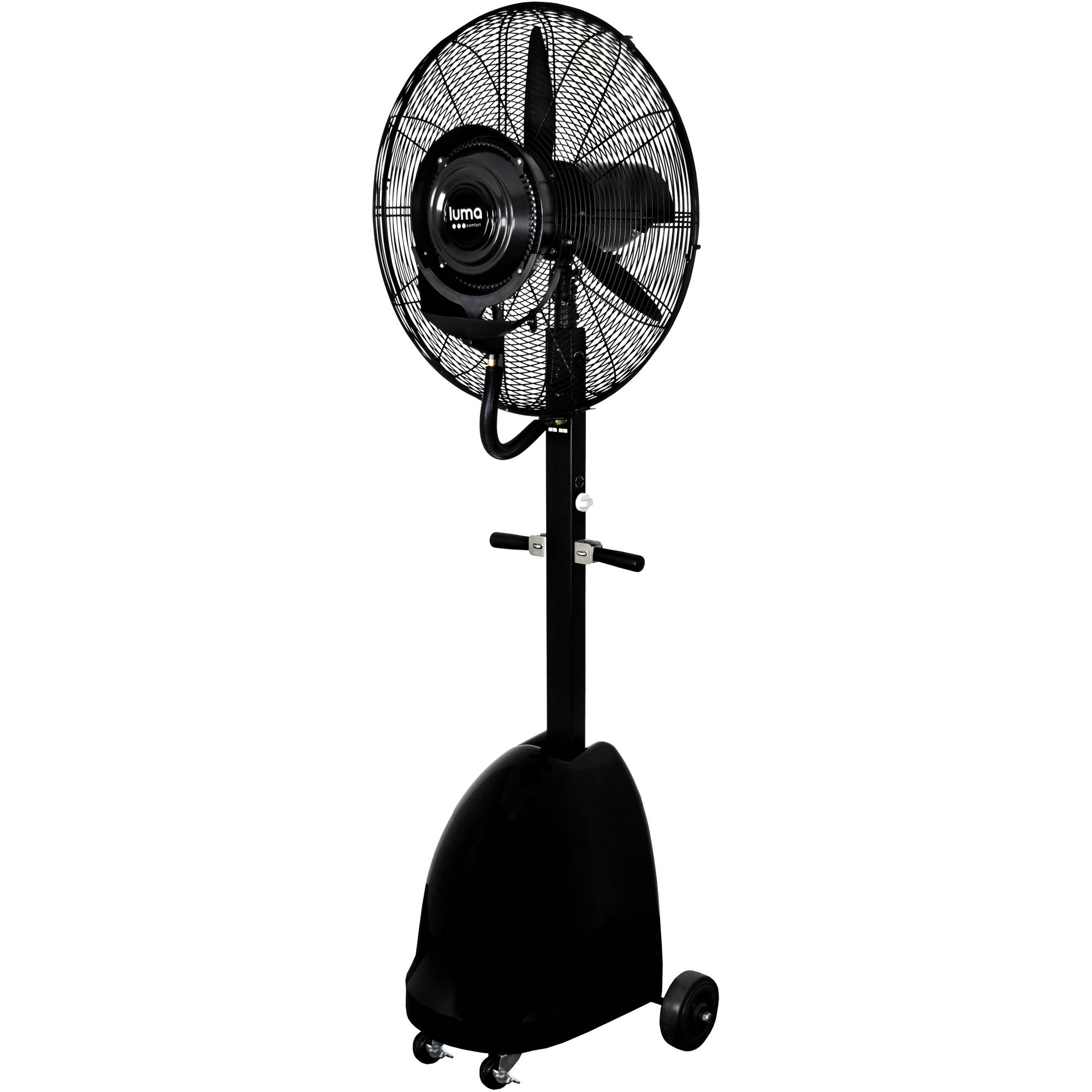 Commercial 26 Quot High Velocity Outdoor Misting Fan Black
