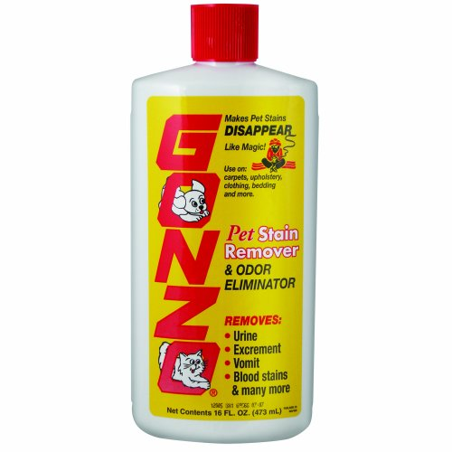 Gonzo Pet Stain Remover And Odor Eliminator 16 Ounces By Homax