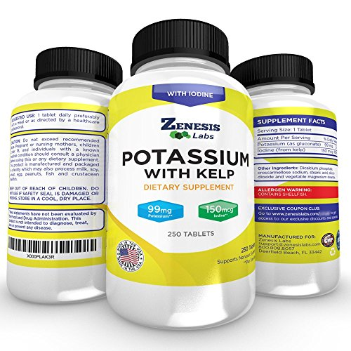 Is potassium gluconate good for leg cramps
