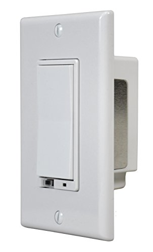 2gig wd500z 1 z wave wall dimmer white. Black Bedroom Furniture Sets. Home Design Ideas