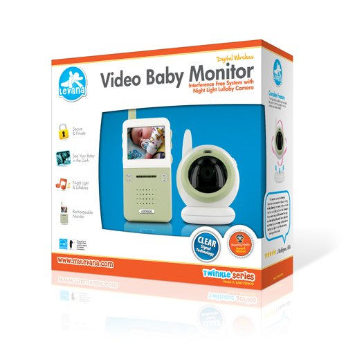 levana babyview20 interference free digital wireless video baby m. Black Bedroom Furniture Sets. Home Design Ideas