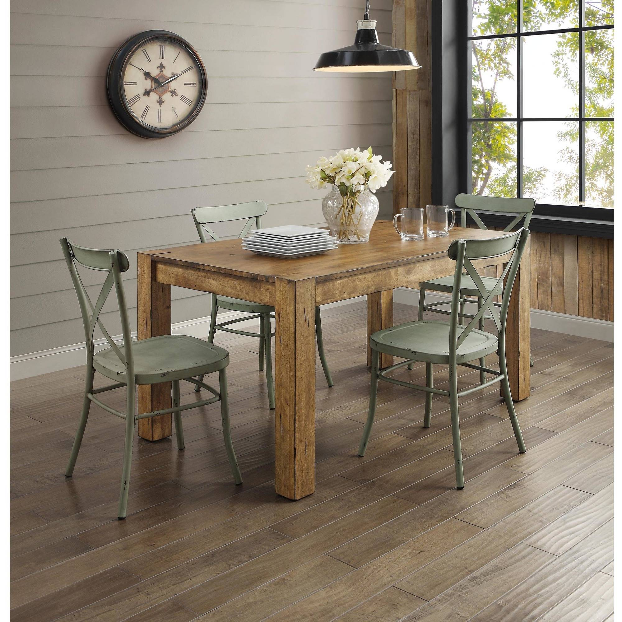 Better Homes and Gardens Collin Silver Dining Chair, 2-Pack | eBay