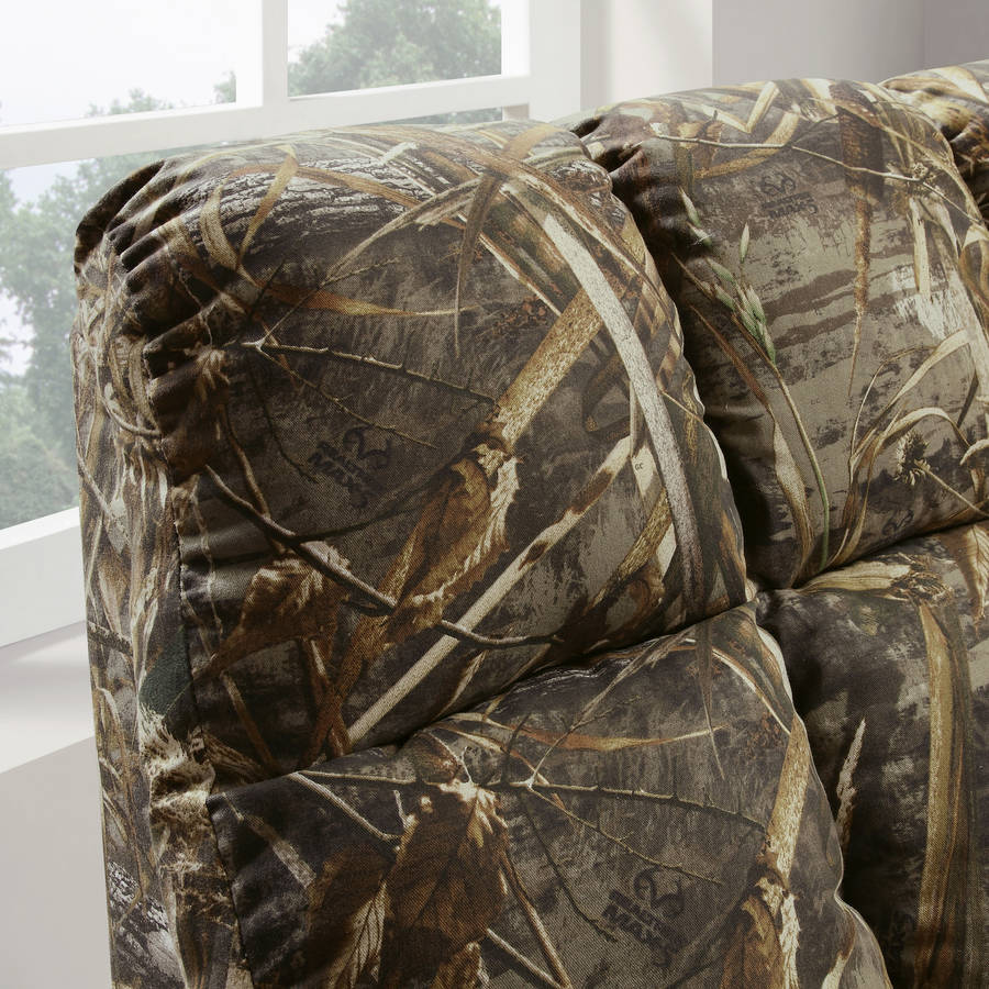 Man Cave Decor Camo : Rocker recliner chair rustic camouflage man cave cabin