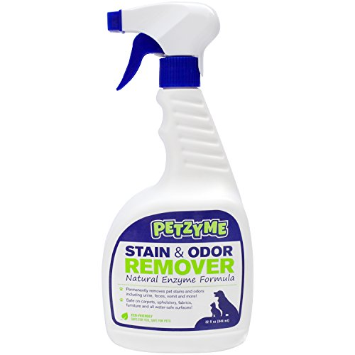 petzyme pet stain remover odor eliminator enzyme cleaner for d. Black Bedroom Furniture Sets. Home Design Ideas