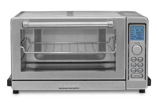 General Electric Countertop Convection Oven : Cuisinart TOB-135 Deluxe Convection Toaster Oven Broiler, Brushed