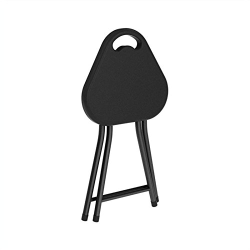 Atlantic 4 Pack Folding Stool With Handle Black