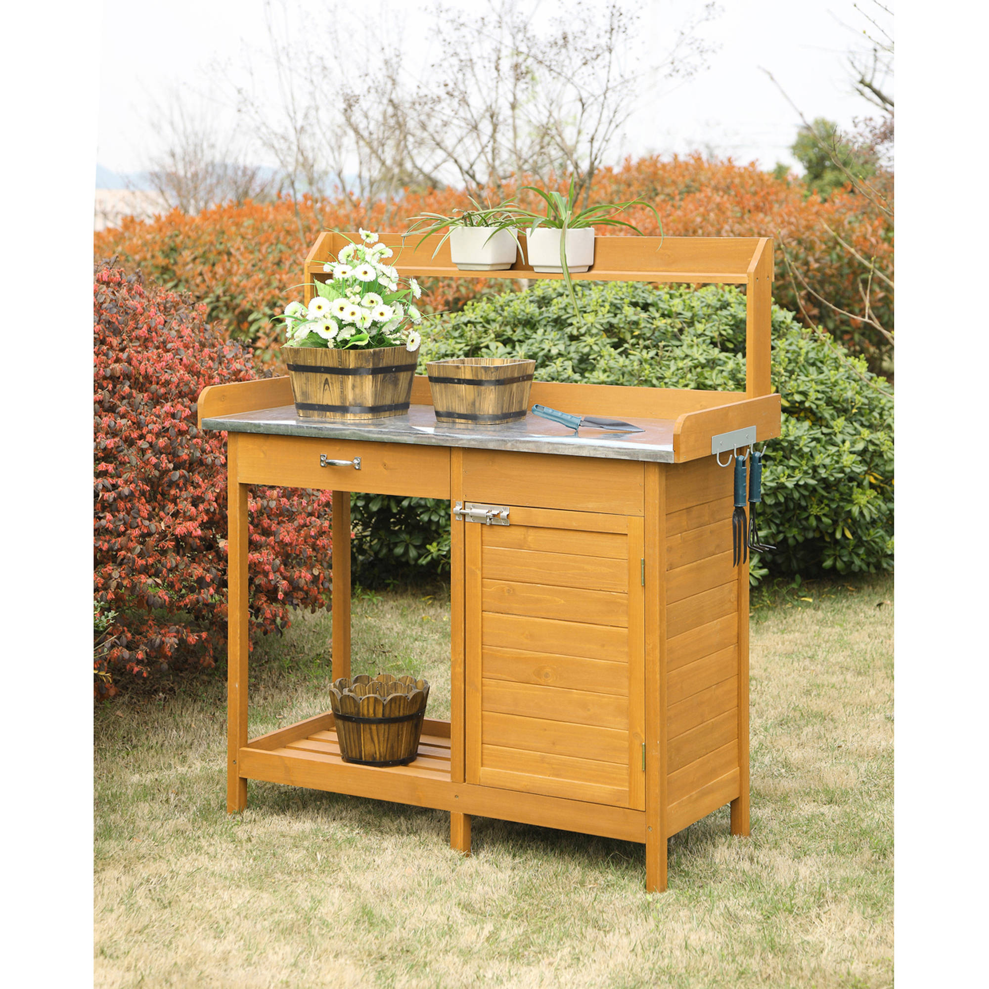 ana diy furniture projects potting table sam white bench