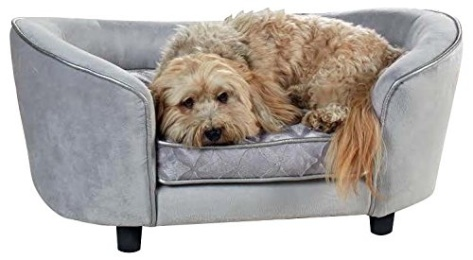 Enchanted Home Pet Quicksilver Pet Sofa Bed 34 By 3 By 15 5 Inch