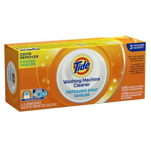 Tide Washing Machine Cleaner, 3 count, 7.9 oz
