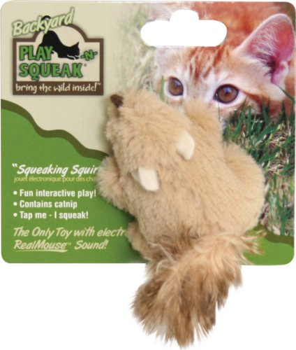Ourpets Play N Squeak Backyard Cat Toy