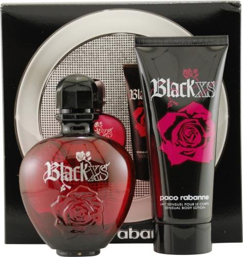 Black xs by paco rabanne for women edt spray 2 7 oz body for Paco rabanne black rose