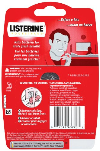 how to use listerine pocketpaks